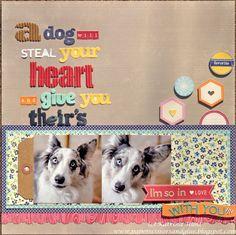A Dog Will Steal-Jillibean Soup - Scrapbook.com