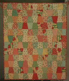 A Sweet Baby Quilt - FREE TUTORIAL