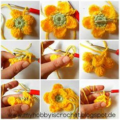 Crochet Dahlia Flower Free