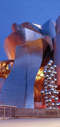 Guggenheim Museum....Bilbao, Spain