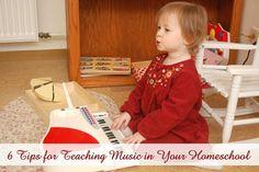 teaching music in homeschool