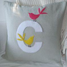 Such a beautiful handmade pillow!  Love it!