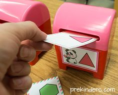free printable both numbers and shapes  and an idea for letters as well