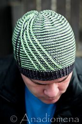 Crossroads Hat pattern by Elena Nodel