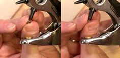 Setting Rivets with Anvil & Setter Tools (Technique) - Lima Beads