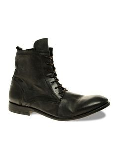 H By Hudson Swathmore Lace-Up Boots