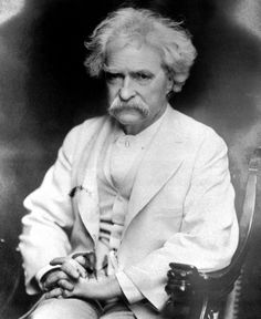 """It is curious that physical courage should be so common in the world and moral courage so rare."""" ~ Mark Twain (1835–1910)"""