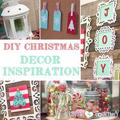 DIY Christmas Home Decor Inspiration