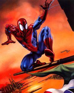 Spider-Man by Boris Vallejo