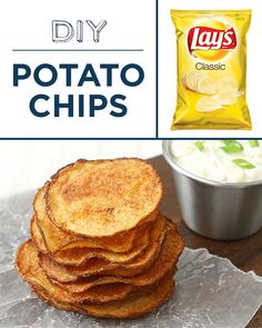 Try baking your own healthy potato chips.