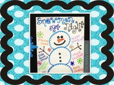 The Bubbly Blonde:  Snowmen at Night