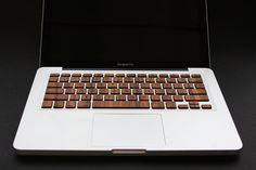 As much as I love technology in all its shiny, metallic glory, I will forever be enamored with the natural aesthetic that wood brings. Luckily RAWBKNY decided to combine the two with their wooden keyboards made exclusively for the Macbook Pro and Macbook Air laptops.