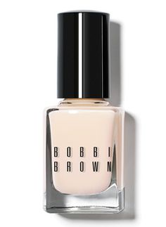 polished and professional nude nails, nail polish, bobbi brown, brown favourit, glow