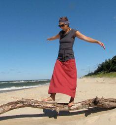 Fall 2011 Hemp Fleece Maxi Skirt by consciousclothing on Etsy, $120.00