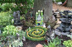 Wizard of Oz fairy garden