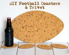 DIY Football Coaster