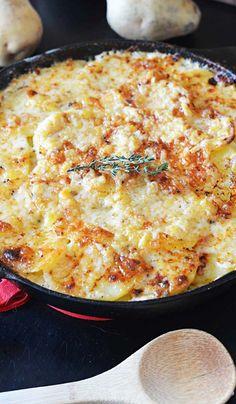 Skillet Scalloped Potatoes Recipe