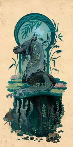 The Kelpie of Loch by blackBanshee80