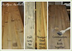 DIY Stain for barn wood look