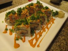 mouth watering sushi creation  photo: frances soriano