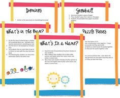 Five ice breakers for back to school or anytime of year! Perfect when changing teams too!