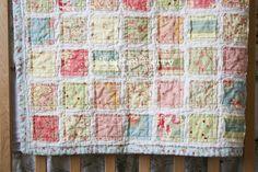 The Rachel Berry Blog: Vintage Baby Quilt