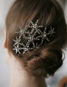 Galaxy hair comb