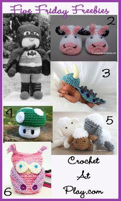 Friday (9-6-13) Finds ~ Crochet ~ free pattern