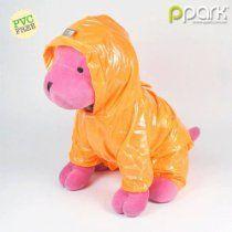 Dog Pocket Raincoat - Orange - 8L