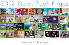 A Year of Quiet Book Pages 2012