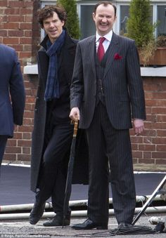 The REAL warring family pair who inspired Mycroft and Sherlock: How Holmes's feud with his scheming sibling is based on the troubled past of the creator's own brother      Mark Gatiss based relationship between Holmes brothers on himself
