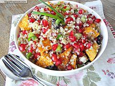 Pomegranate Sweet Potato Quinoa