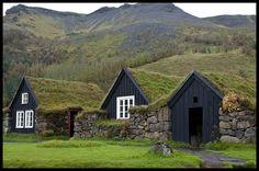 Icelandic Sod houses