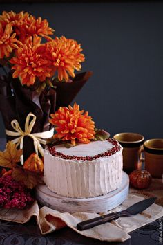 Harvest Cake with Br