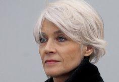 Francoise Hardy - even more elegant now she's gray