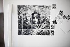 DIY: Turn Your Fridge into a Gallery Wall, Make Photo Magnet Mosaics!   Photojojo