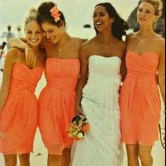 cute bridesmaides dresses