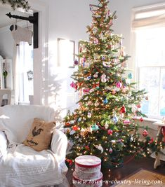 Vintage Christmas Tr