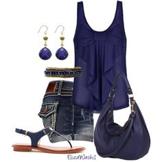 fashion, style, blue, color, summer outfits, leather bag, challeng, bow, summer shorts