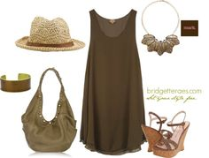 """""""Urban Safari Casual- Featuring Mark. Show Me Your Metal Necklace"""" by bridgetteraes on Polyvore"""