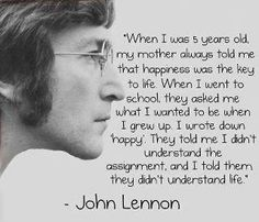 things i want in a guy, happi life, word of wisdom, real life, happy quotes, smart kids, 5 years, true stories, john lennon