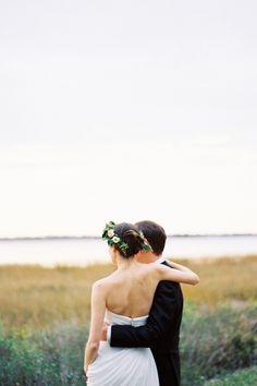 tocado de novia - flores