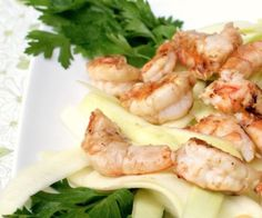 Asian Shrimp and Cucumber Salad #paleo #lowcalorie #realfood