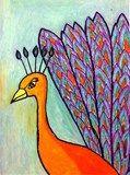 Artsonia Art Exhibit :: 5th Grade Peacocks (Previte)