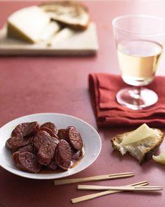 Pan-Fried Chorizo with Sherry Vinegar Recipe