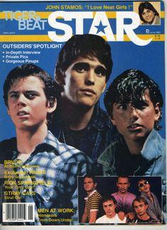 Movie Teen Tiger Beat Magazine Outsiders Ralph Macchio Thomas Howell Matt Dillon
