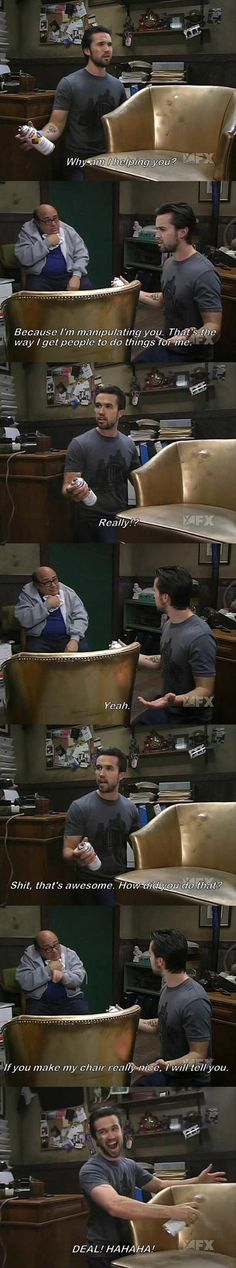 Love It's Always Sunny so much!!