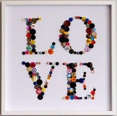 Rosely Pignataro: Ideias de decoração com botões.