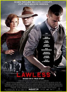Tom Hardy & Shia LaBeouf: lawless.. amazing movie