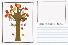 Thankful Journal Writing Prompt {Free Printable}